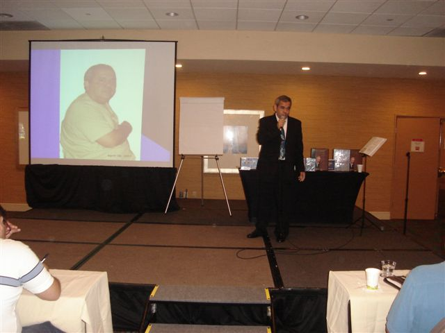 September 2007 - Speaking at Omar Periu's Seminar