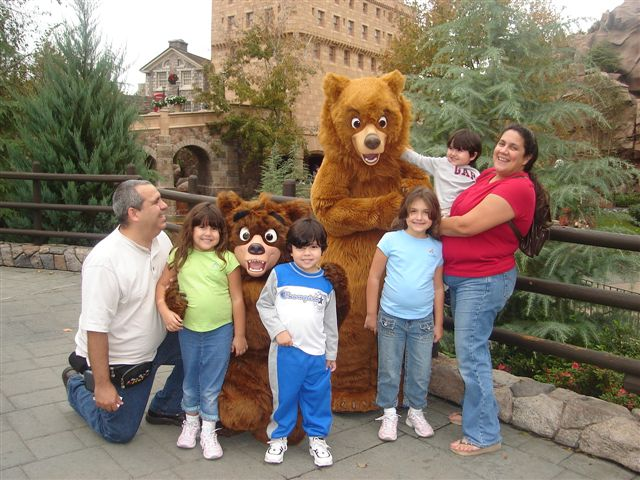 January 2007 - The-Bear-Family visit Disney